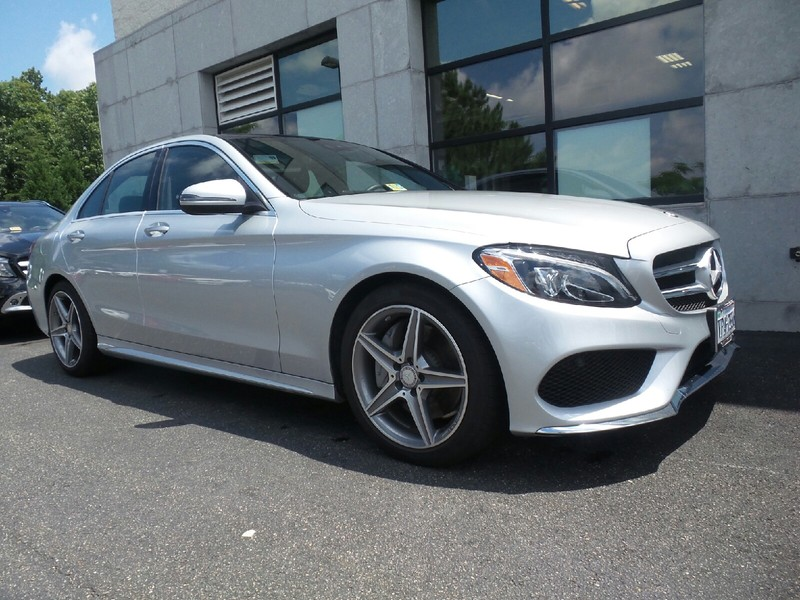 Pre owned 2016 mercedes benz c class c300w sport sedan in for Mercedes benz midlothian