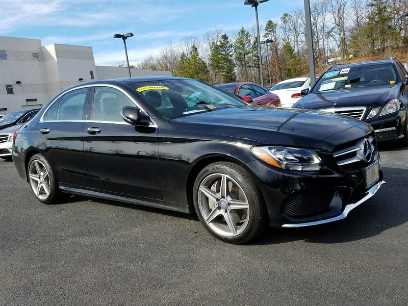 Pre owned 2017 mercedes benz c class c300w4 4matic sport for Mercedes benz c300 msrp