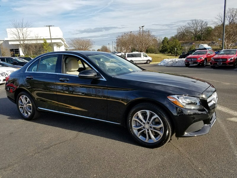 Pre owned 2017 mercedes benz c class c300w4 4matic only for Mercedes benz msrp