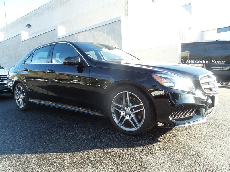 Pre owned 2016 mercedes benz e class e 350 sport sedan in for Mercedes benz midlothian service