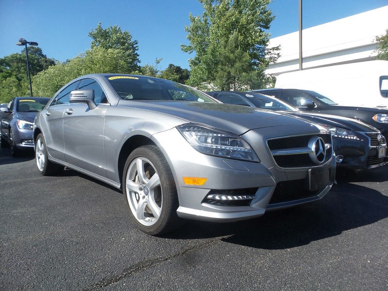 Certified pre owned 2014 mercedes benz cls cls550 4matic for Mercedes benz midlothian