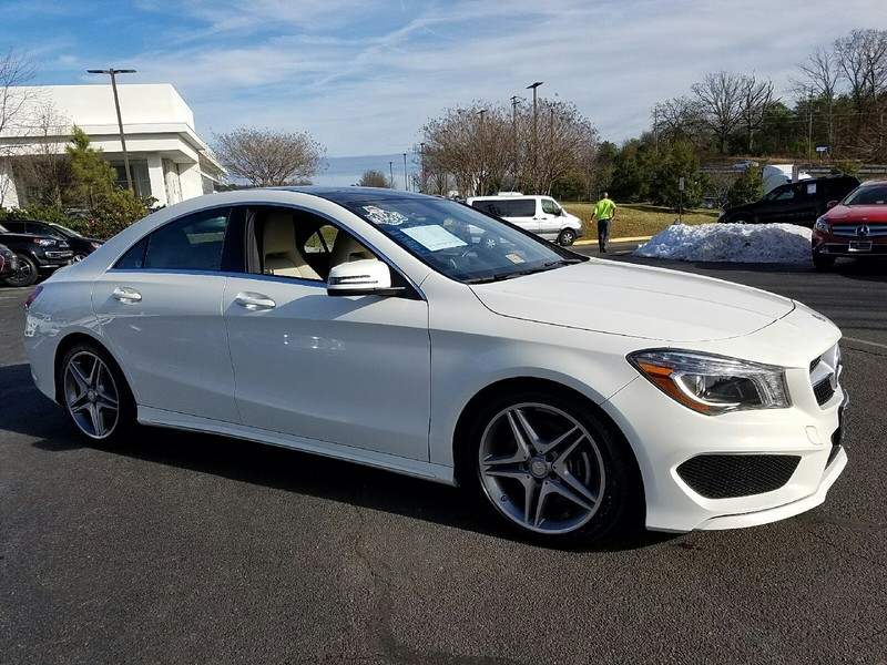 Certified pre owned 2014 mercedes benz cla cla250c pano for Mercedes benz cpo special offers