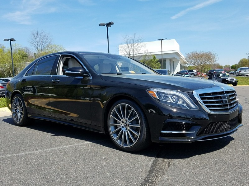 New 2017 mercedes benz s class s 550 sport sedan in for Mercedes benz midlothian