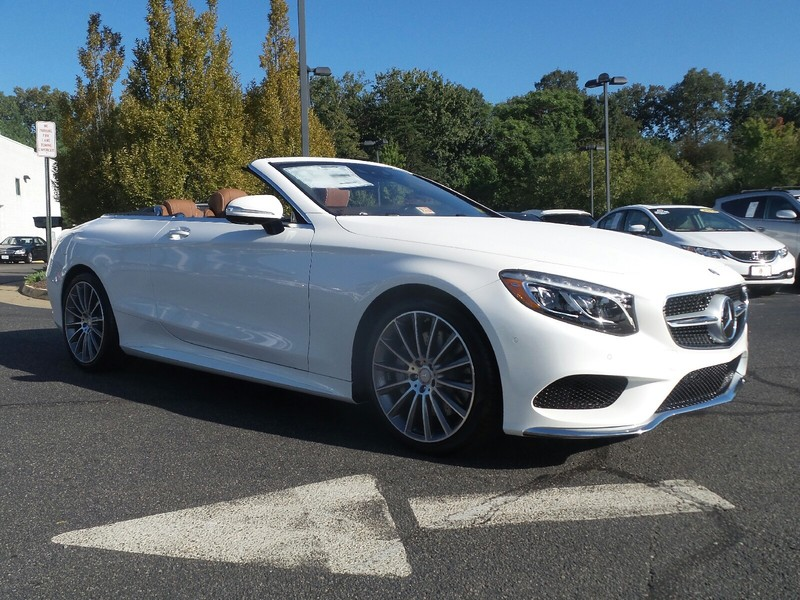 New 2017 mercedes benz s class s 550 sport cabriolet in for Mercedes benz midlothian